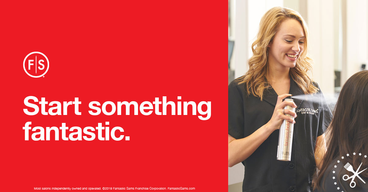 Start Something Fantastic - Fantastic Sams Recruitment Ad